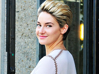 Shailene Woodley Dyes Her Pixie Bright Blonde! (PHOTO)