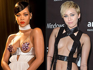 Miley Cyrus, Rihanna and More Take the 'Undress Code' to the Next Level