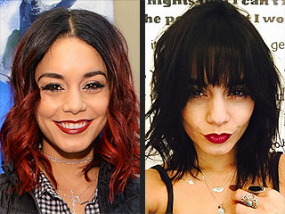 Vanessa Hudgens Pulls a Hair Change Trifecta: Color, Cut & Bangs! (PHOTO)