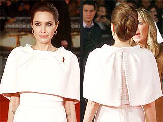Angelina Jolie's Unbroken Premiere Look Makes Us Think She's a Secret Scandal Fanatic