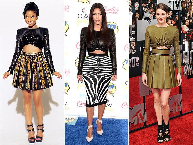 Fashion Faceoff: Nicki vs. Kim vs. Shailene
