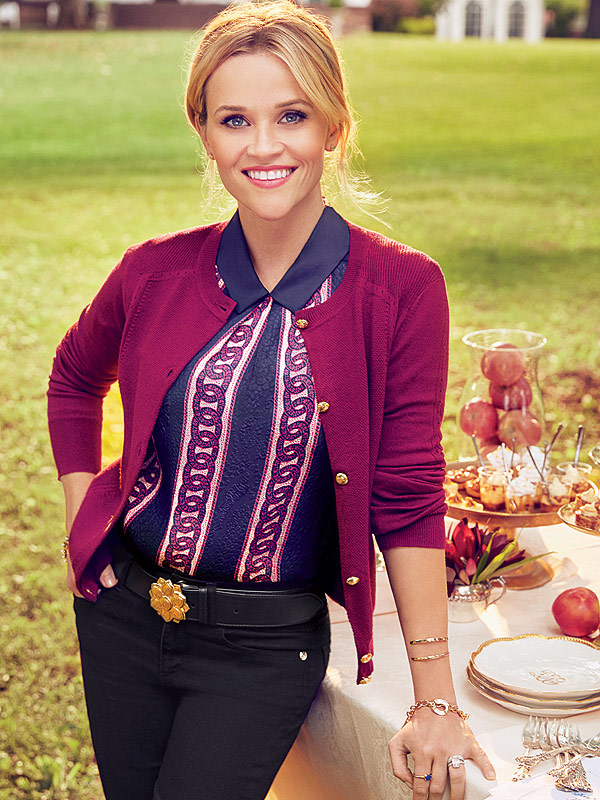 Exterior: Reese Witherspoon Celebrates Store Opening, Shares Picture