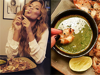 The Very Best Celebrity Food Photos of the Week from Chrissy Teigen, Kim Kardashian, and More