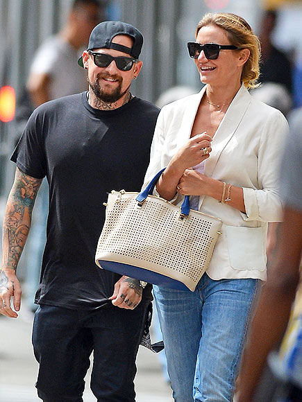Cameron Diaz and husband