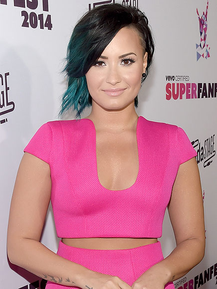 Demi Lovato Raising Money for Mental Illness 'In Honor of My Dad'