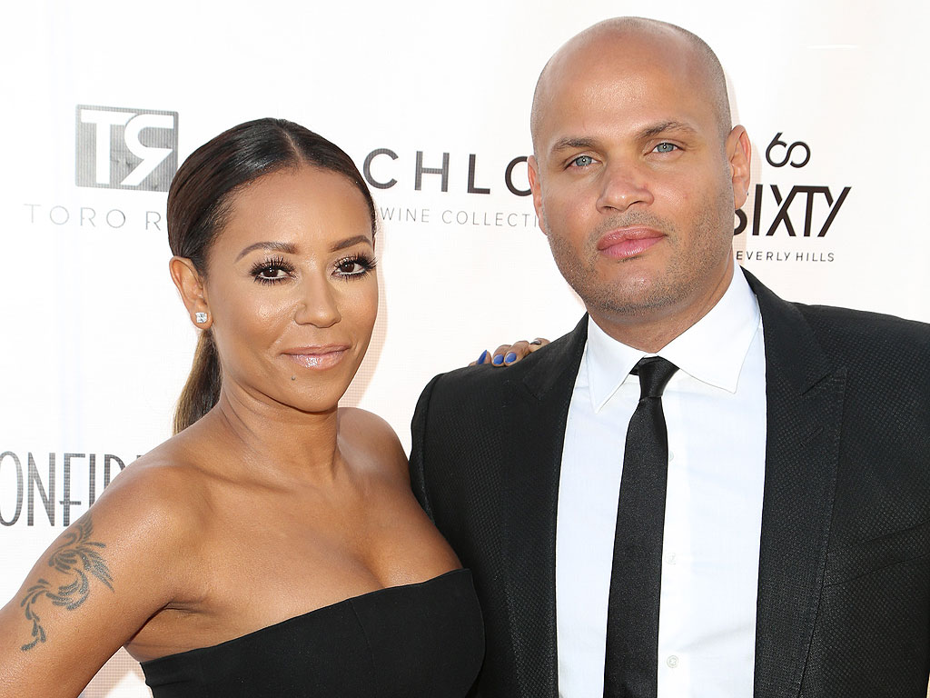 Mel B.: My Hubby Would Never Lay a Hand on Me
