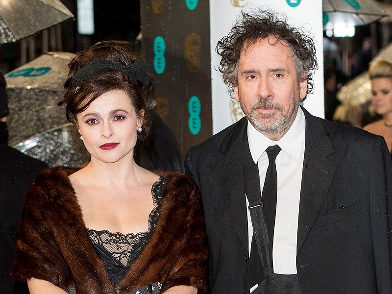 Helena Bonham Carter and Tim Burton Split