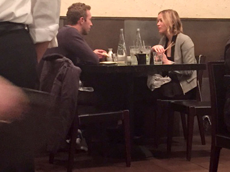Jennifer Lawrence and Chris Martin Reunite For 'Fun' Dinner Date