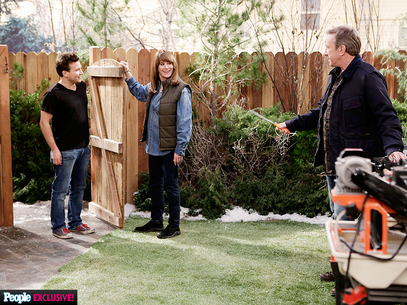 ... alongside Patricia Richardson and Tim Allen in ABC's Last Man Standing
