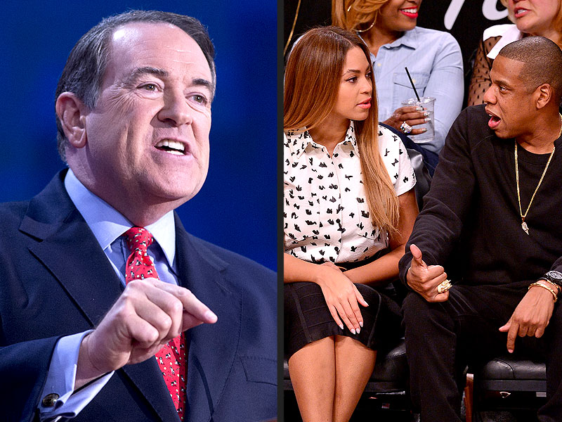 Former – And Maybe Future – Presidential Candidate Mike Huckabee Says Jay-Z is 'Pimping' Beyonce