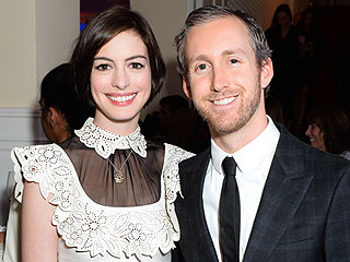 Pregnant Anne Hathaway 'Looks Great and Seems Very Happy' Since Baby News, 'Hasn't Slowed Down at All,' Says Source