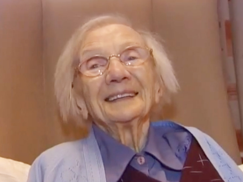 Scotland's Oldest Woman Never Married: Video : People.com