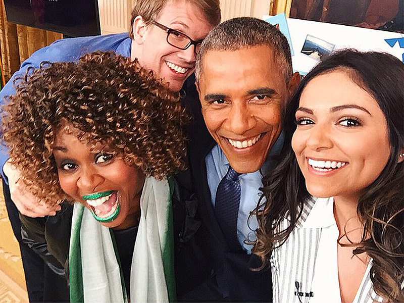 GloZell Interview About Barack Obama and Michelle Obama