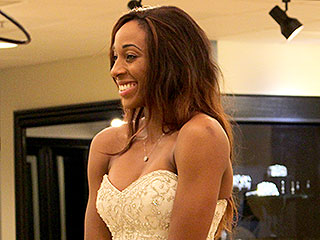 WNBA's Brittney Griner, Glory Johnson Pick a Wedding Dress