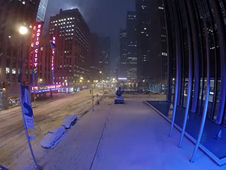 Time-Lapse Video: Snowstorm Juno Passes by PEOPLE Headquarters in 56 Seconds