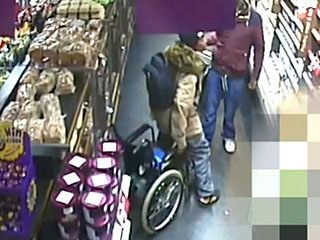 WATCH: Woman Caught on Camera Getting Up from Wheelchair to Rob Store
