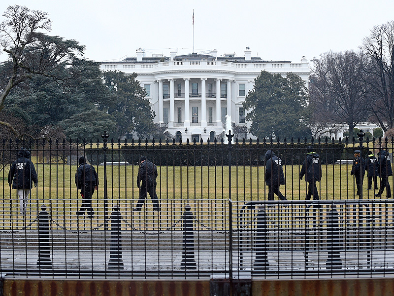 First White House Fence Jumper White House Fence Jumper