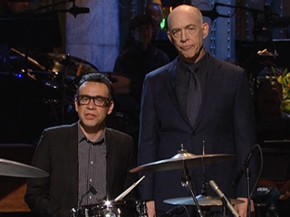 J.K. Simmons Channels His Oscar-Nominated Whiplash Character for His SNL Monologue