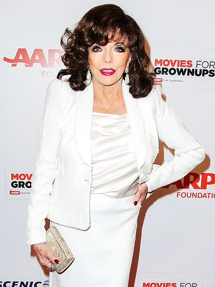 Joan Collins to Be 'Damed' by Queen Elizabeth II: What Will She Wear?