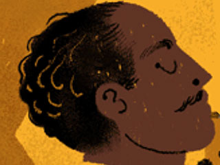 Langston Hughes Celebrated in Sunday's Google Doodle