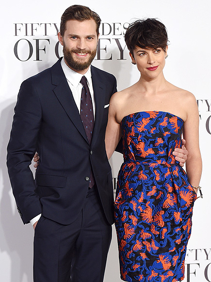 Jamie Dornan's Wife, Amelia Warner, Will Not Be Watching 'Fifty Shades of Grey'