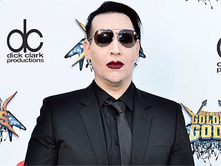 Marilyn Manson and His Dad Take Weirdly Cute Photo in Full Makeup