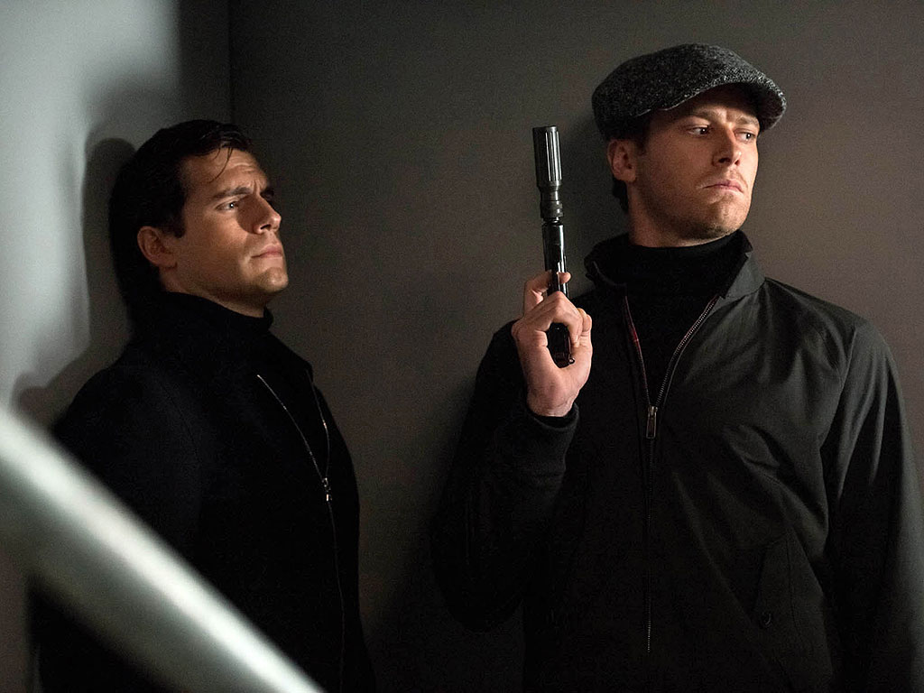 Henry Cavill & Armie Hammer in The Man from U.N.C.L.E.: Photo