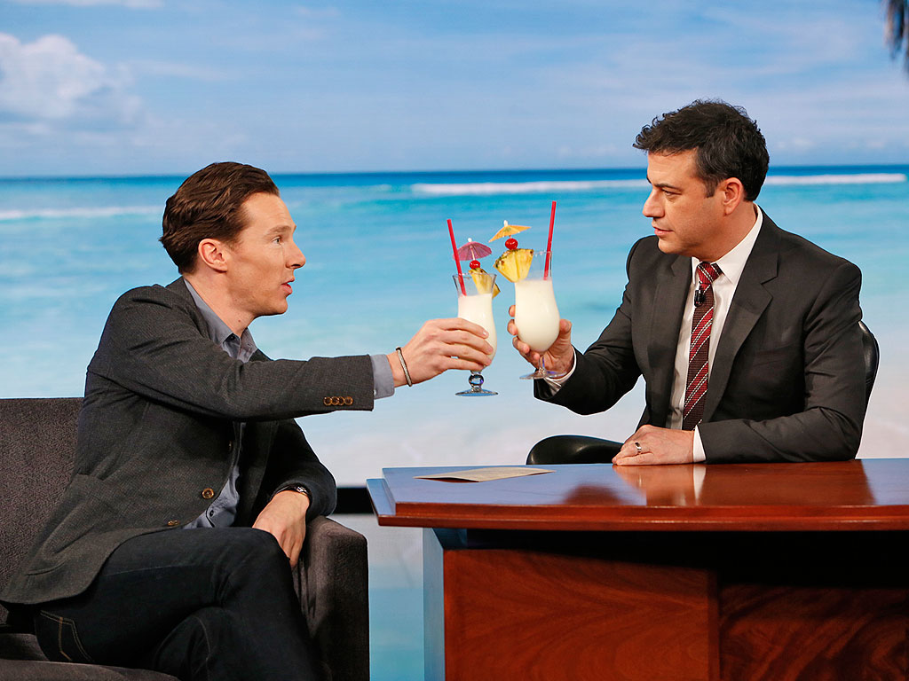 Benedict Cumberbatch Talks Wedding, Baby on the Way on Jimmy Kimmel Live