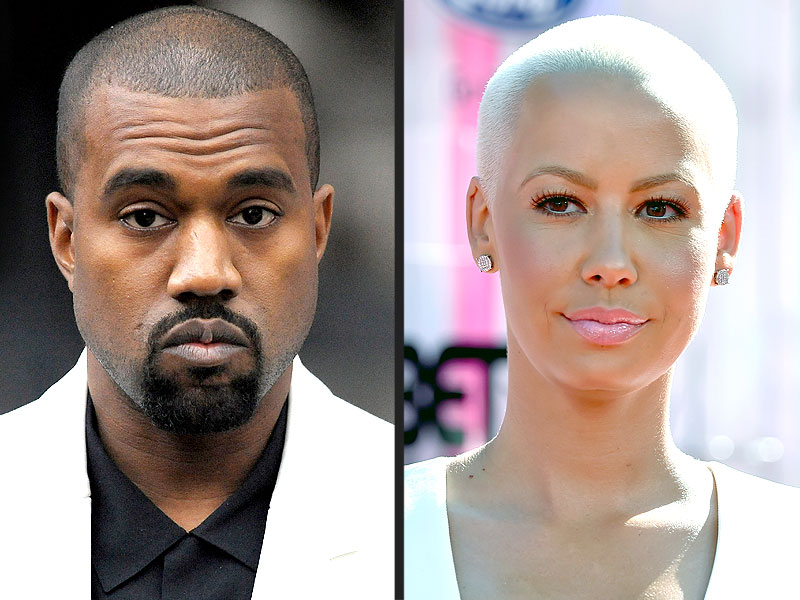 Kanye West Disses Amber Rose in Breakfast Club Interview