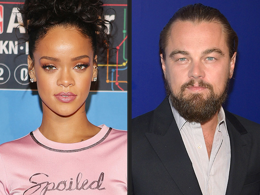 Rihanna Celebrates Her Birthday by Getting Flirty with Leonardo DiCaprio