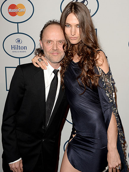Metallica's Lars Ulrich Celebrates His Bachelor Party