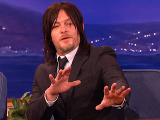 VIDEO: The Walking Dead's Norman Reedus Likes to Lick People – Where Do We Sign Up?