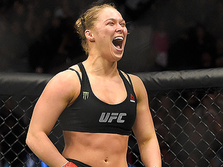FROM EW: Ronda Rousey to Star in Film Adaptation of Her Autobiography