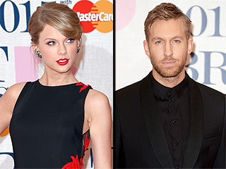Taylor Swift & Calvin Harris Kiss at Country Concert