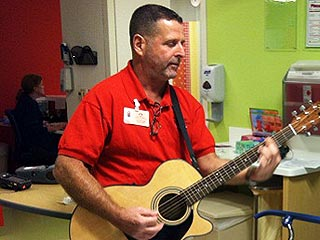 Heroes Among Us: After a Tragic Loss, Man Gives Sick Kids the Gift of Music