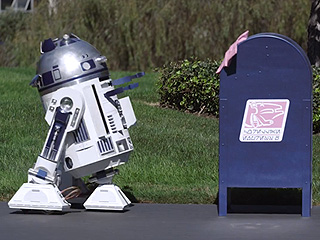 WATCH: R2D2 Comes to Earth to Find True Love