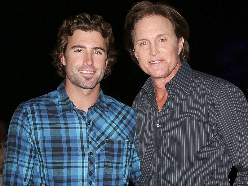 Photo of Brody Jenner & his  Father  Bruce Jenner