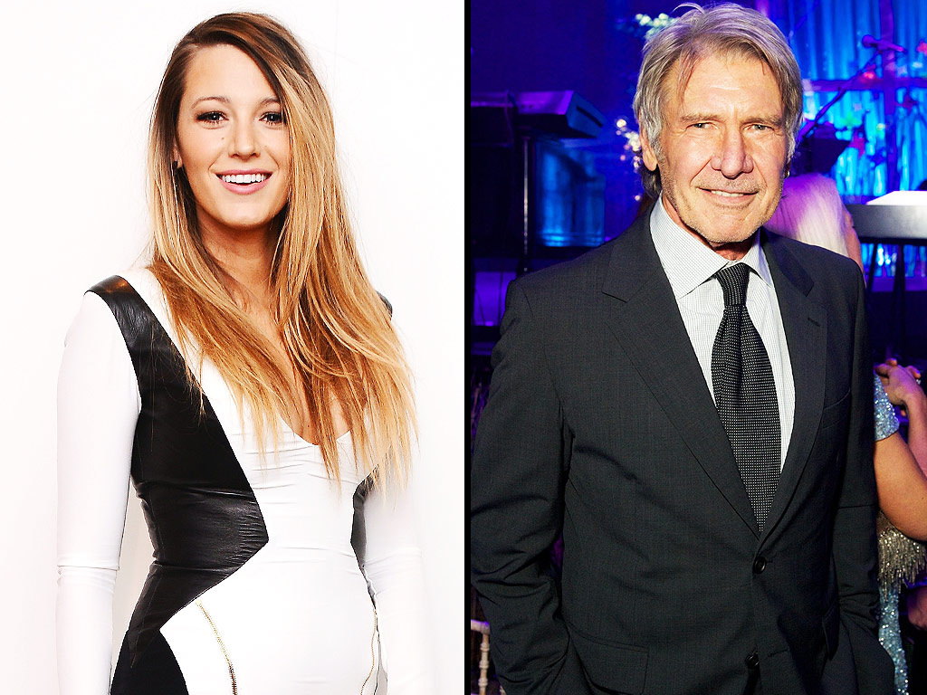 Blake Lively harrison ford