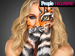 Rebecca Romijn Previews Skin Wars Season 2 with Super Sexy Tigress Teaser