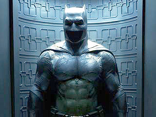 Check Out Ben Affleck's Batsuit for Batman v Superman (No, It Doesn't Have Nipples)
