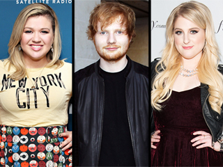 Kelly Clarkson, Ed Sheeran, Meghan Trainor & John Legend Set to Perform at the 2015 Billboard Music Awards