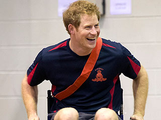 Prince Harry Plays Wheelchair Soccer While Stationed in Australia