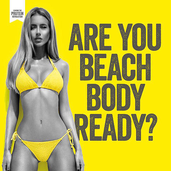 Controversial Beauty Ads Controversial 39 Beach Body 39 Ads