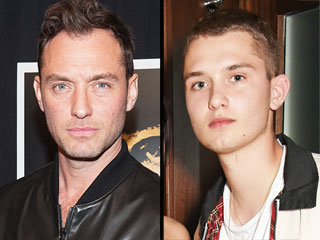 Check Out Jude Law's Look-Alike Teenage Son