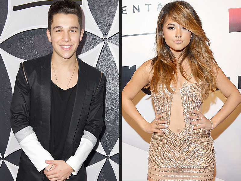 How long has becky g and austin mahone been dating