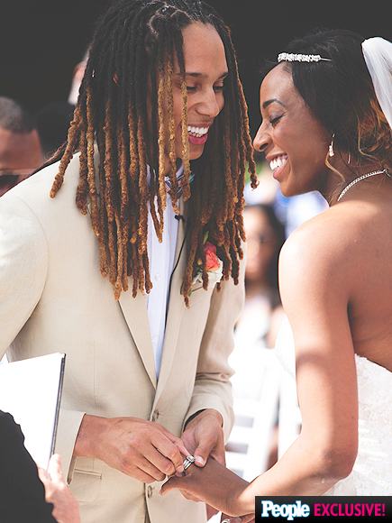 WNBA's Brittney Griner and Glory Johnson Are Married