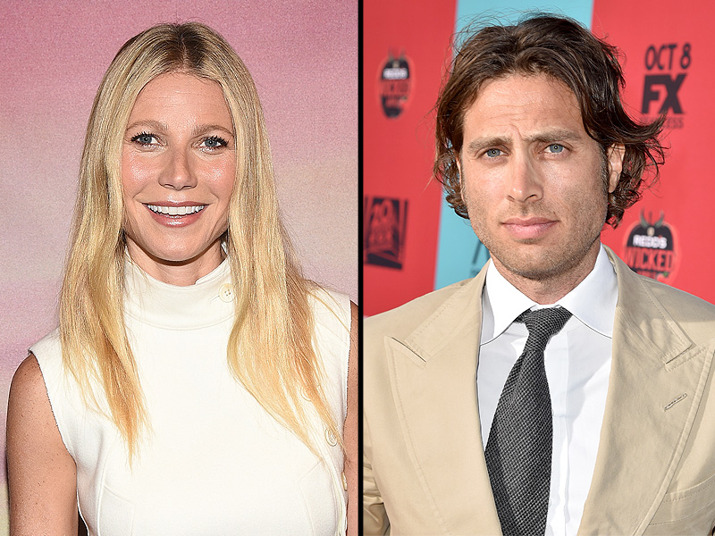 Gwyneth Paltrow and Brad Falchuk Hold Hands, Share a Sweet Kiss at the Premiere of Her Mom's New Movie
