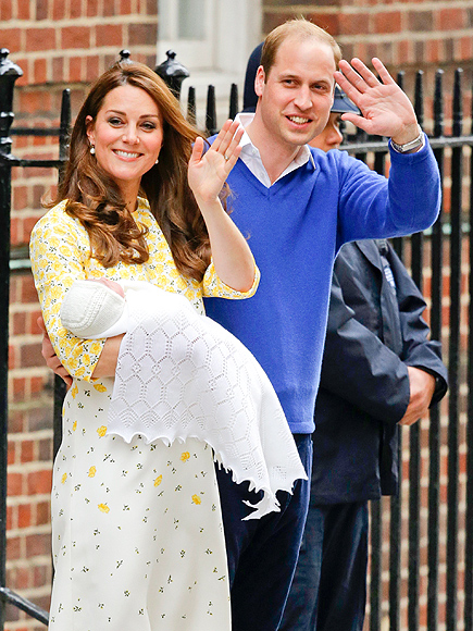 Royal baby princess kate and prince william introduce their daughter