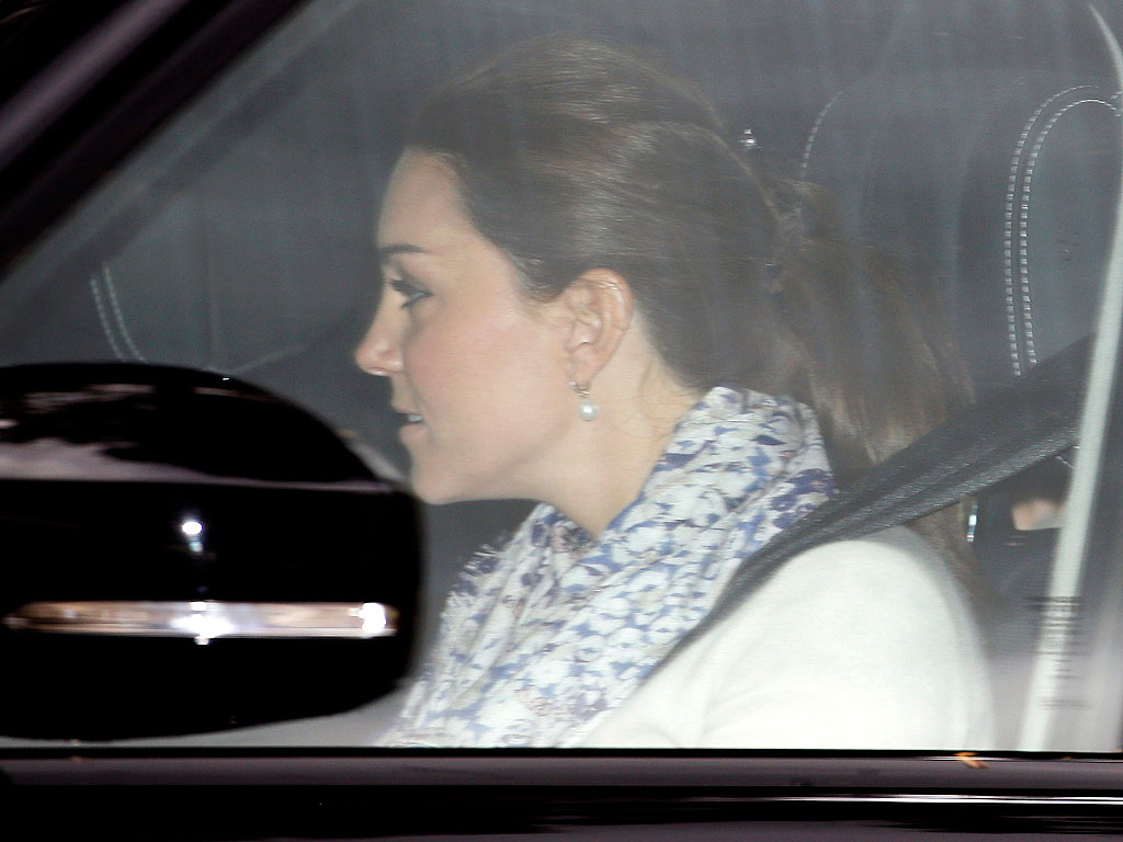 Princess Kate and Prince William Leave for Their Country Home – with the Kids!