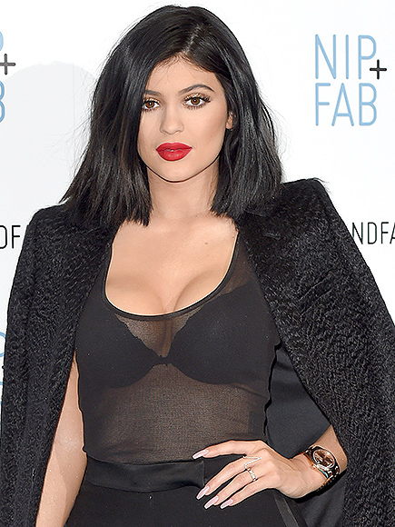 Kylie Jenner Adopts Rabbit, Names It Bruce